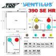 Ventilus 390 SE HR szellőztető méretek
