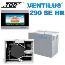Ventilus 290 SE HR entalpiás szellőztető gép