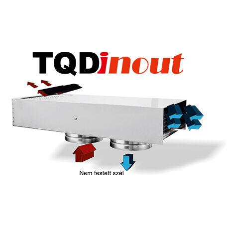 Homlokzati áramlás szabályzó TQDinout Ø200
