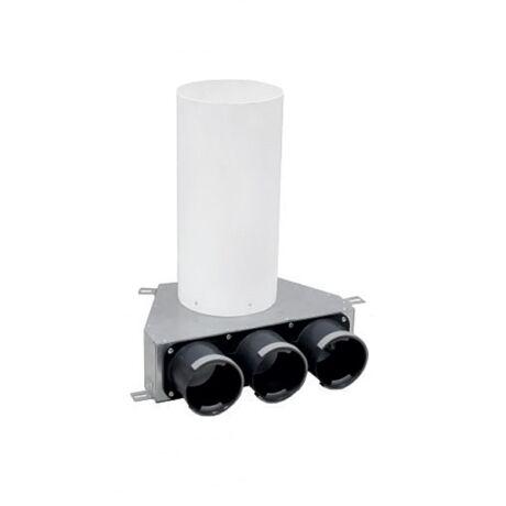 150 mm-es légszelep fogadó