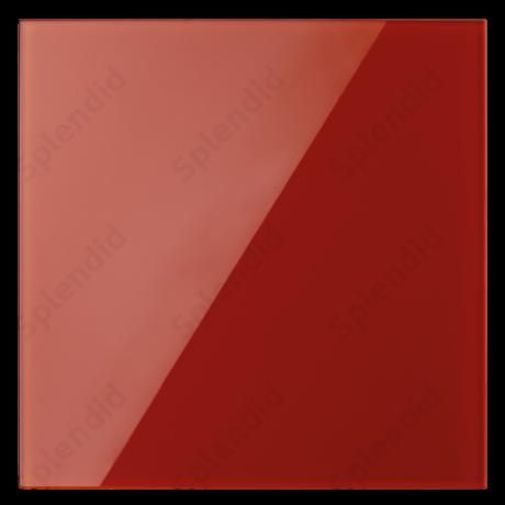 GLAS RED üveg ventilátor előlap