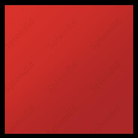 Plan Red műanyag ventilátor előlap