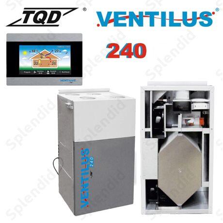 Ventilus 240 falra szerelhető szellőztető gép