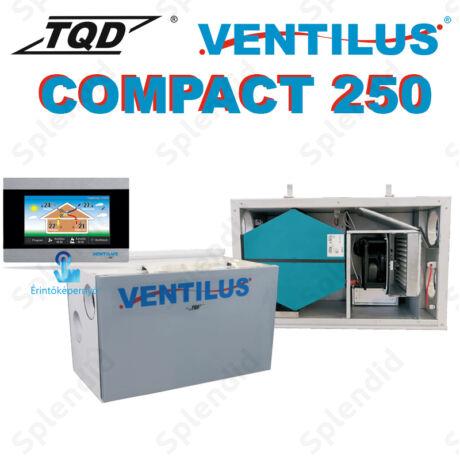 Ventilus Compact 250 HR entalpiás szellőztető gép