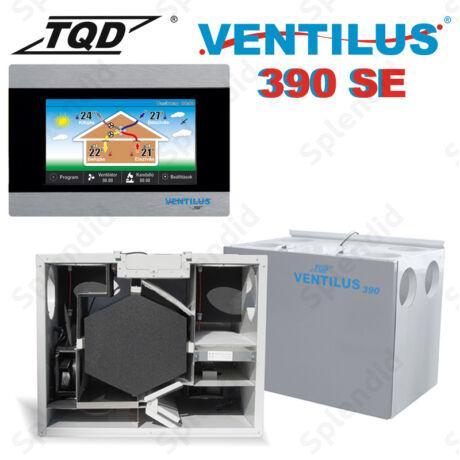 Ventilus 390 SE hővisszanyerős szellőztető gép