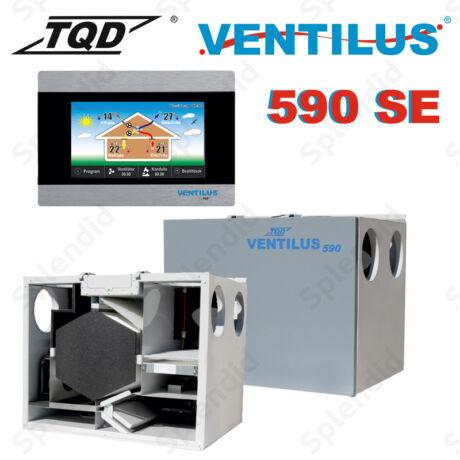 Ventilus 590 SE hővisszanyerős szellőztető gép