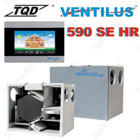 Ventilus 590 SE HR entalpiás hővisszanyerős szellőztető gép